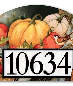 Welcome Fall Pumpkins Yard Sign | Address Plaques | Yard Signs