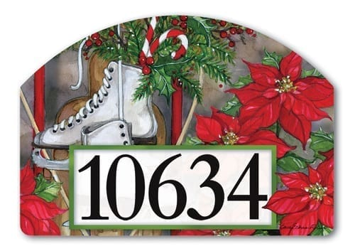Magnetic Yard Address Signs Outdoor Decorations For Holidays And