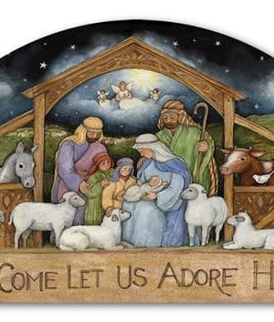 Holy Family Yard Sign | Yard Signs | Garden Decor | Address Plaques