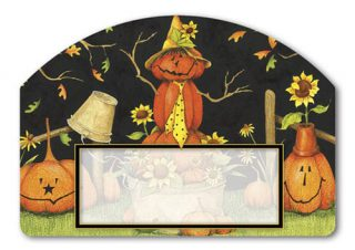 Mr. Scarecrow Yard Sign | Address Plaques | Garden House Flags