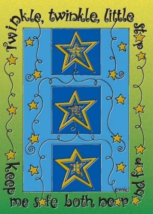 Twinkle Twinkle Flag | Christmas Flags | Holiday Flags | Winter Flags | Flag