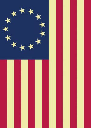 Betsy Ross Traditional Flag | House Flags | Flags | Garden House Flags