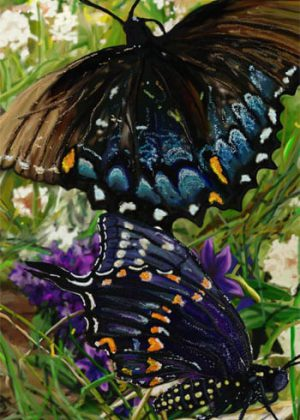 Black Swallowtails Flag | Spring Flags | Summer Flag | Wildlife Flags