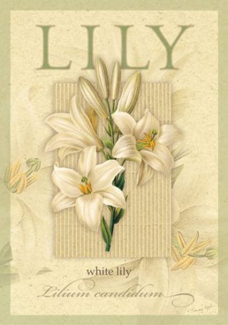 White Lily Flag | Easter Flags | Floral Flags | Yard Flags | Spring Flags