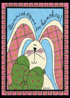 Bunny Flag | Easter Flags | Yard Flags | Spring Flags | Cool Flags | Flags