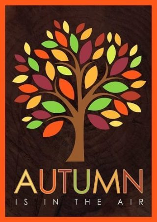Autumn Tree Flag | Fall Flags | Garden Flags | House Flags | Cool Flags