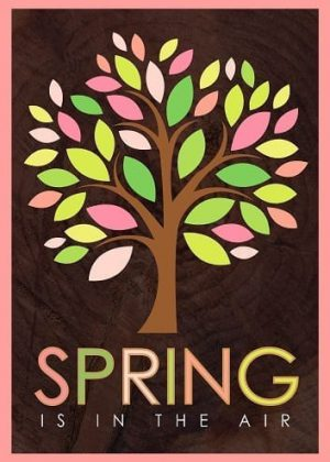 Spring Tree Flag | House Flags | Garden Flags | Yard Flags | Spring Flags