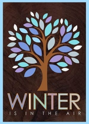 Winter Tree Flag | Winter Flags | Yard Flags | Garden Flags | House Flags