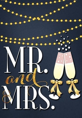 Mr. and Mrs. Twinkle Flag | Decorative Flags | Garden Flags | Garden House Flags