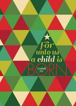 A Child Is Born Flag | House Flag | Christmas Flags | Holiday Flags