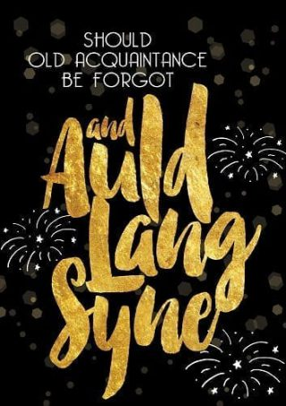 Auld Lang Syne Flag | Flags | New Year's Flags | Yard Flags | Cool Flags